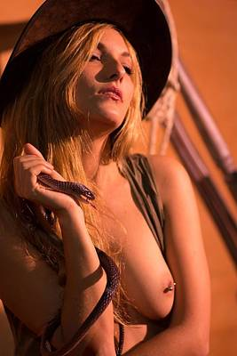Photograph - Cowgirl 8 by Paul Miners