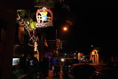 Cowgirl Bar In Santa Fe Art Print