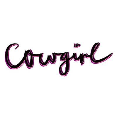 Drawing - Cowgirl by Bill Owen