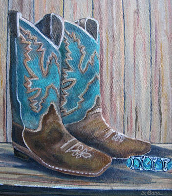 Painting - Cowgirl Couture by Lisa Barr