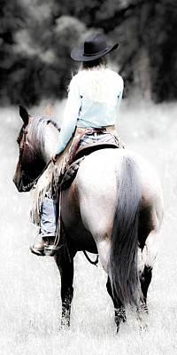 Photograph - Cowgirl II by Athena Mckinzie