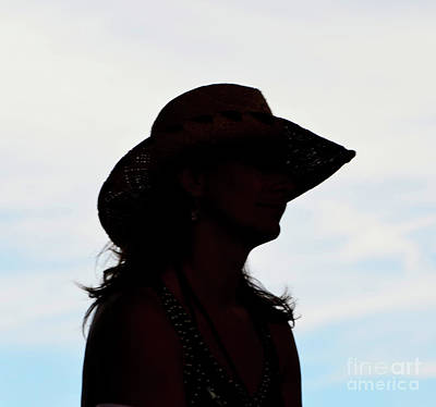 Cowgirl In The Sky Art Print