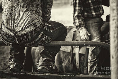 Photograph - Cowgirl Talk by Marilyn Nieves