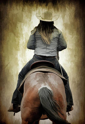 Photograph - Cowgirl Up by Athena Mckinzie