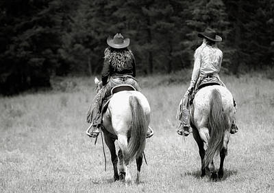 Photograph - Cowgirls Ride by Athena Mckinzie
