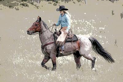 Photograph - Cowgirls Ride IIi by Athena Mckinzie