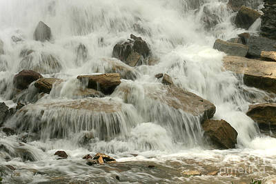 Photograph - Cowley Falls 4 by E B Schmidt