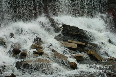 Photograph - Cowley Falls 5 by E B Schmidt