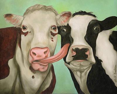 Cowlicious Original by Leah Saulnier The Painting Maniac