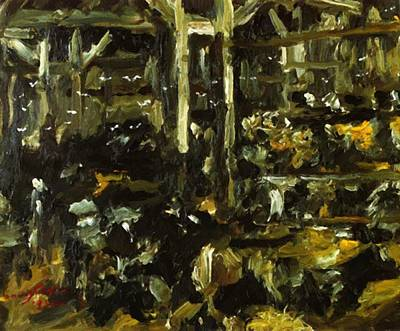 Painting - Cowshed 1912 by Corinth Lovis