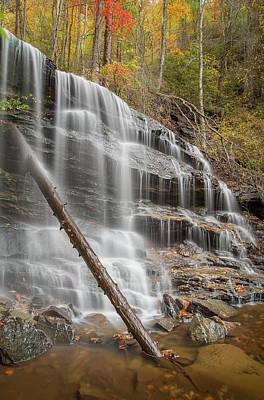 Sc Waterfalls Photograph - Cox Camp Branch 3 by Derek Thornton