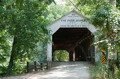 Cox Ford Bridge Art Print
