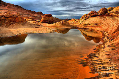 Photograph - Coyote Buttes Lakeshore by Adam Jewell
