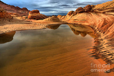Coyote Buttes Swimming Pool Art Print