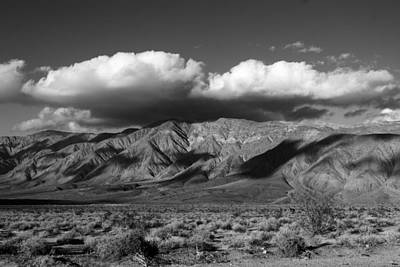Anza Borrego Desert Photograph - Coyote Mountains by Peter Tellone