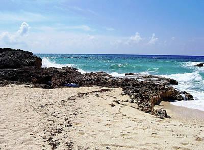 Photograph - Cozumel Beach by Debbie Oppermann