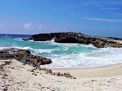 Photograph - Cozumel Beach I by Debbie Oppermann