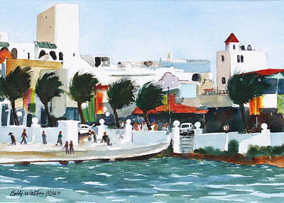 Cozumel By The Sea Art Print