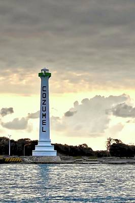 Photograph - Cozumel Lighthouse by Kirsten Giving
