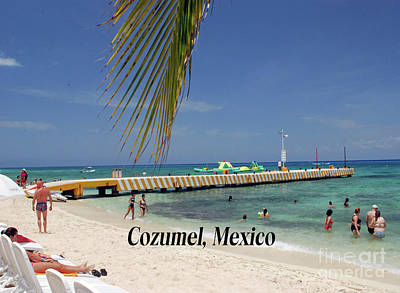 Photograph - Cozumel Mexico by Gary Wonning