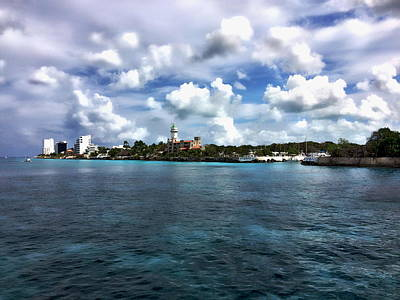 Photograph - Cozumel Panorama by Anthony Dezenzio