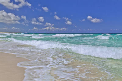 Clouds Photograph - Cozumel Paradise by Chad Dutson
