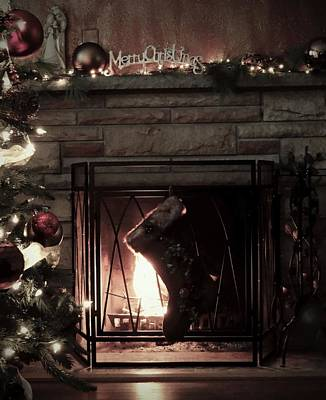 Photograph - Cozy By The Fireplace by Jenny Regan