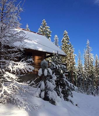 Painting - Cozy Cabin by Jennifer Lake