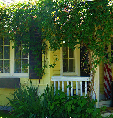 Rhoades Photograph - Cozy Cottage by Mg Blackstock