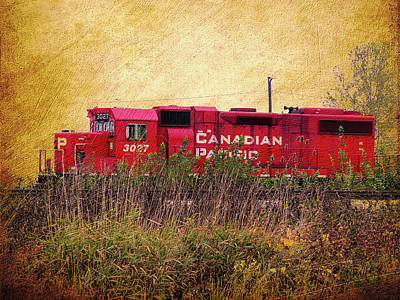 Photograph - Cp Engine by Leslie Montgomery