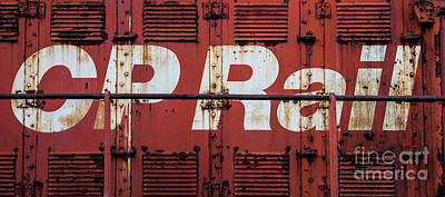 Photograph - Cp Rail by Miles Whittingham