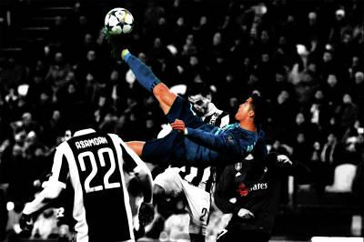 Cristiano Ronaldo Mixed Media - Cr7 Cristiano Ronaldo by Brian Reaves