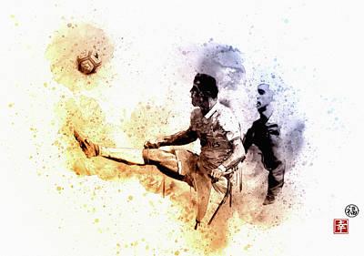 Wayne Rooney Wall Art - Digital Art - CR7 by Don Kuing