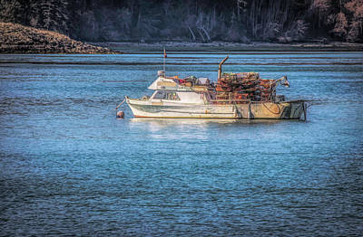 Photograph - Crab Boat by Steph Gabler