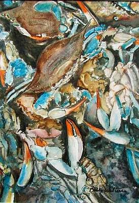Painting - Crab Meat by Bobby Walters