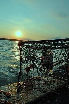 Photograph - Crab Pot On The River by La Dolce Vita
