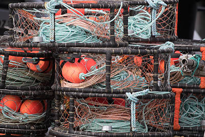 Photograph - Crab Pots by Deana Glenz