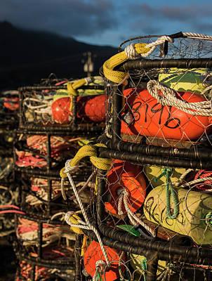 Photograph - Crab Pots by Robert Potts