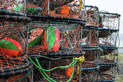 Photograph - Crab Pots by Tom Cochran