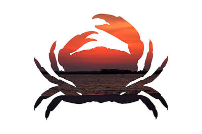 Photograph - Crab Sunset by Michael Colgate