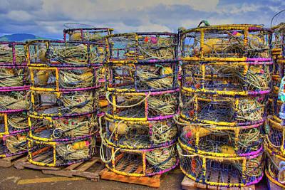 Photograph - Crab Traps by Richard J Cassato