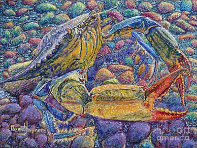 Painting - Crabby by David Joyner