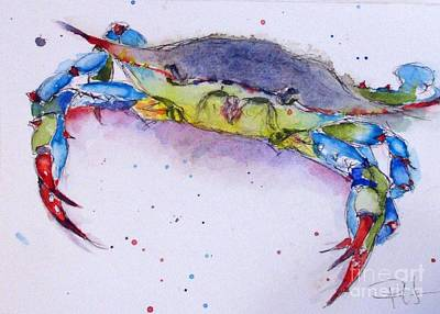 Painting - Crabby by Patricia Henderson