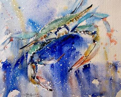Painting - Crabby by Sandra Strohschein