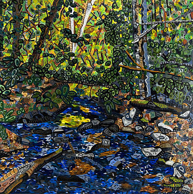 Switzerland Painting - Crabtree Creek by Micah Mullen