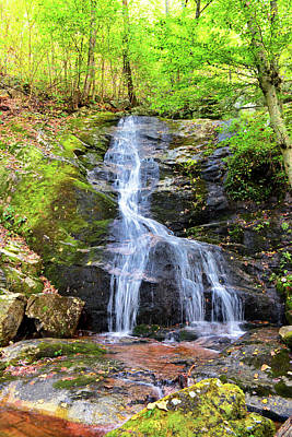 Photograph - Crabtree Falls by Mike Martin