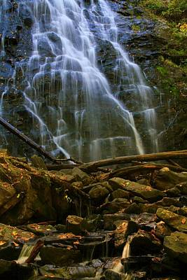 Photograph - Crabtree Falls North Carolina by Dan Sproul