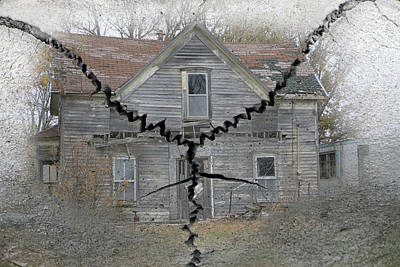 Photograph - Crack House by Christopher McKenzie