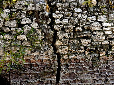 Crack In The Wall Art Print