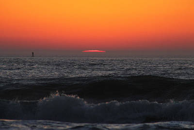 Photograph - Crack Of An Orange Dawn by Robert Banach
